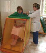 Воздушные радоновые ванны